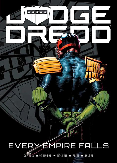 judge dredd every empire b01n5hgl8y judge dredd every empire falls book by michael carroll henry flint p j holden paul
