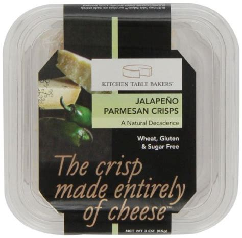 kitchen table bakers garlic parmesan crisps 3 ounce