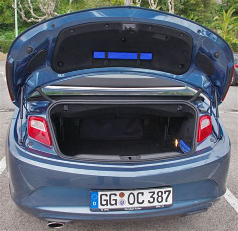 opel cascada trunk what are your favorite useless but interesting car facts