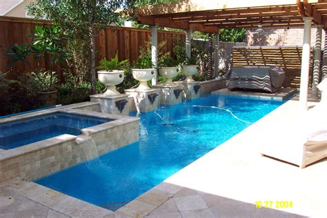 swimming pool designs for small backyard landscaping ideas