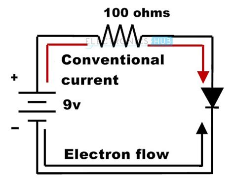 direction of current flow through resistor in which direction will conventional current flow through the resistor in the figure 28 images