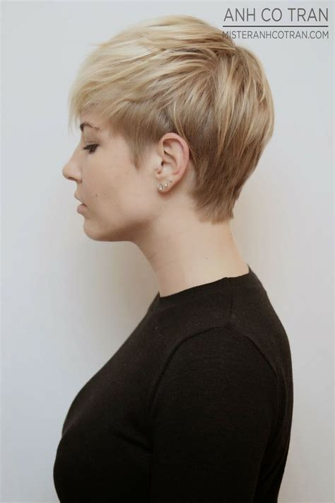 haircut pixie on top long in back michelle williams short hair back