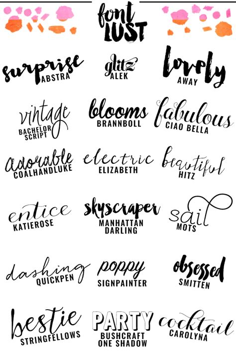 best script the best handwritten script fonts for your fonts