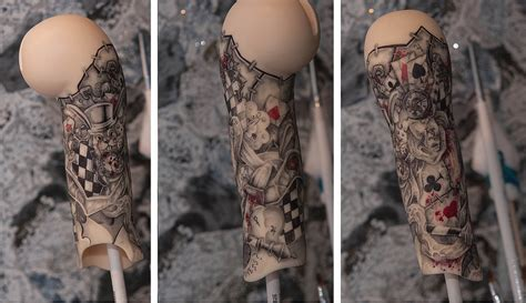 doll s tattoo part alice madness return by saikoxix on