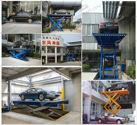 Garage Lifts For Sale by Rise Portable Hydraulic Car Scissor Lift Car Lift For