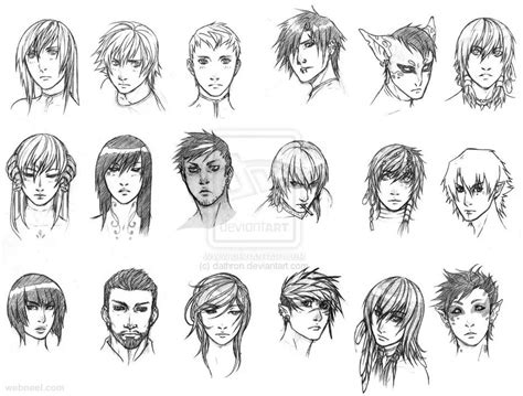 how to draw doodle character anime characters drawing 15