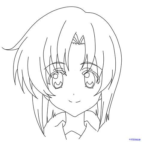 Easy To Draw Japanese Symbols by How To Draw Rena Ryuugu Higurashi Step By Step Anime