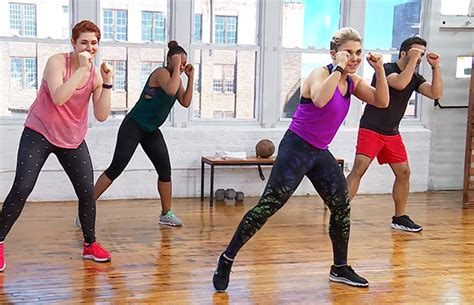 the one at home kickboxing workout you need