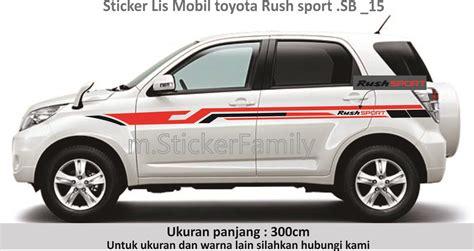 Sticker Mobil Ertiga List Suzuki Ertiga 006 sticker list mobil custom sticker