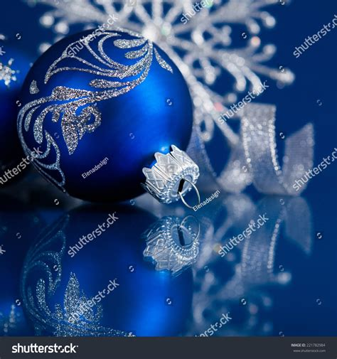 blue ornaments silver ornaments background ornaments