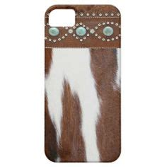 Iphone 55s5c Leather quot cowhide turquoise quot western iphone 5