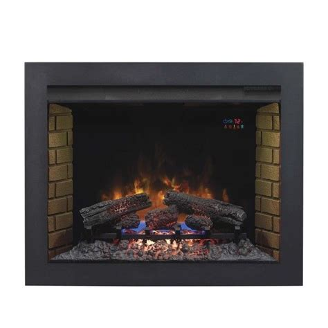 fireplace insert trim kit classicflame 1000 images about custom installations on