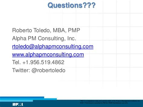 Toledo Mba by From Balanced Scorecard To Project Portfolio Management