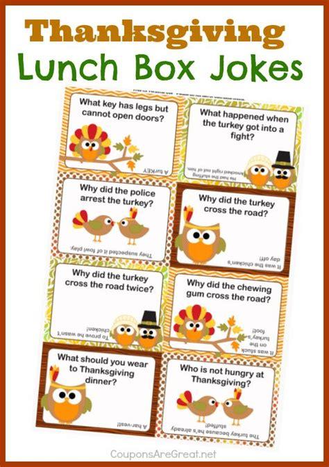 free printable lunchbox jokes thanksgiving lunch box jokes for kids kids love finding