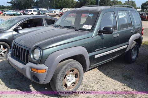 purple jeep liberty city of wichita towed vehicle auction in wichita kansas