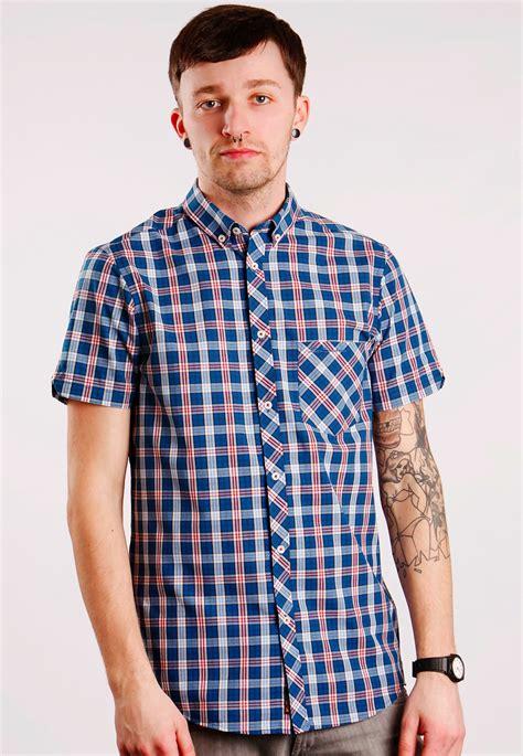 Ben Shirt ben sherman shirt s s blue twilight ii shirt