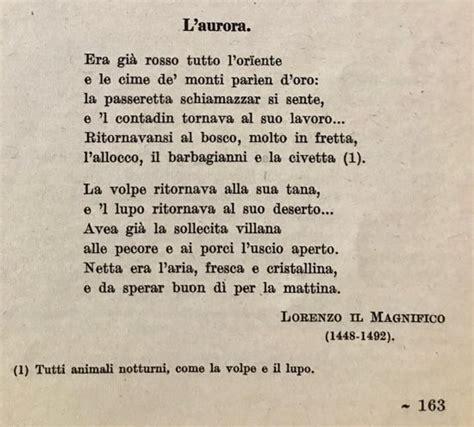 testo della canzone magnifico l poesia di lorenzo il magnifico i testi della