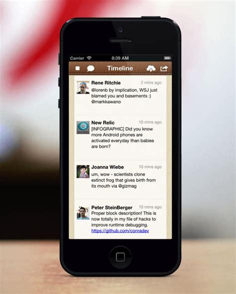 app design vault coupon tweet library an alternative look iphone and ios app