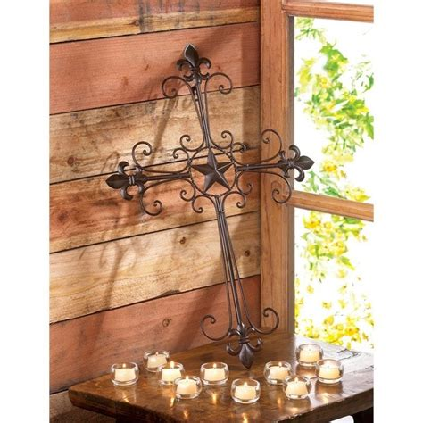 lone star home decor zingz and thingz lone star wall cross 55050264