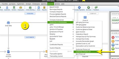 Quickbooks Customer Contact List Report by Free Quickbooks Tutorials Create A Report To Include Custom Fields