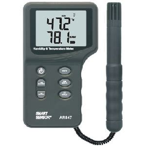 Termometer Udara jual termometer suhu udara thermohygrometer ar 847 harga