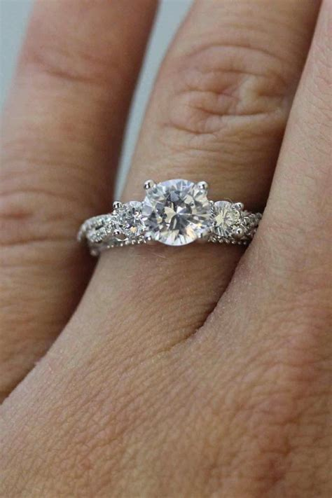 Is The Lnternet And Ring by The Most Popular Engagement Ring On The Ok