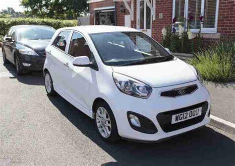 kia picanto 3 in white car for sale