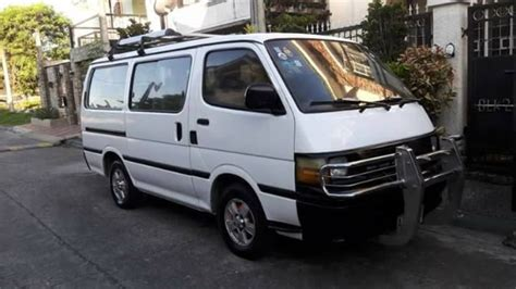 toyota van philippines toyota hiace commuter van local used philippines