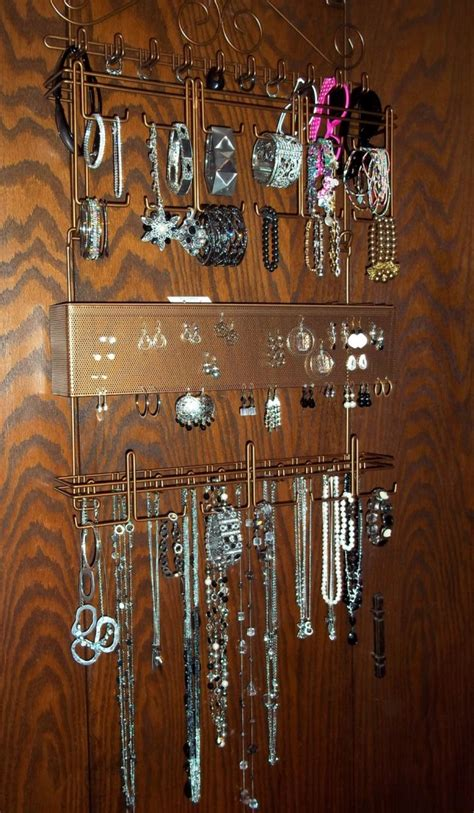 Diy The Door Jewelry Organizer by 36 Awesome Ideas Of Diy Wall Jewelry Organizers