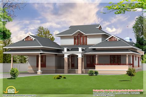 3 kerala style home elevations kerala home design