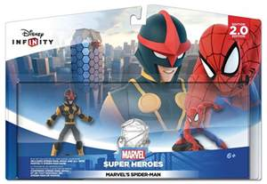 Spider Infinity 2 0 Disney Infinity 2 0 Spider Playset Pack Ps4 Ps3 Wii