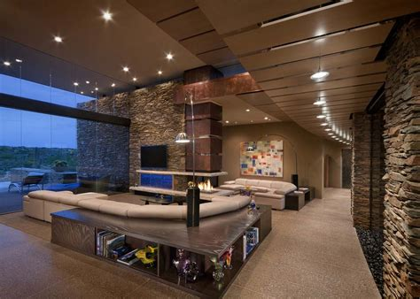 luxury homes interior pictures award winning modern luxury home in arizona the sefcovic