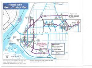 Trolley bus route and taxi info niagara falls blues festival