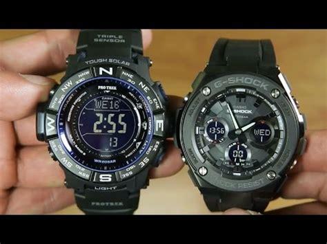 G Shock Gst S100g 1b casio protrek prw 3500y vs g shock g steel gst s100g 1b