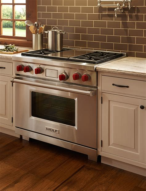 stoves wolf stoves 914mm dual fuel range with griddle dual fuel range wolf