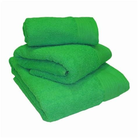 Towel 40 X 70 Green towel city bath shee bright green towel