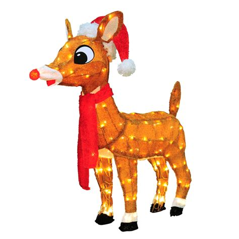 rudolph the red nosed reindeer outdoor christmas