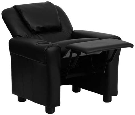 Gaming Chair With Cup Holder by Flash Furniture Dg Ult Kid Bk Gg Black Vinyl