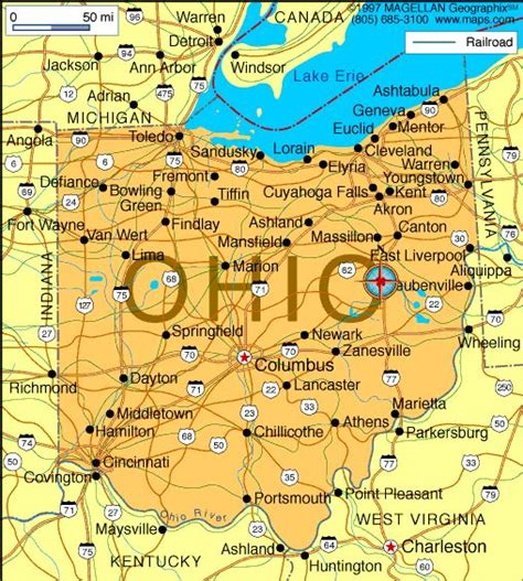 map of ohio state cus map of ohio which became the 17th state on march 1 1803