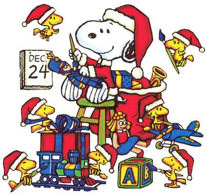 christmas eve clip artchristmas snoopy  woodstock christmas eve clipartsco