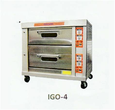Oven Okazawa okazawa 2layer 4tray industrial gas oven my power tools