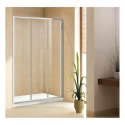 cabine doccia cristallo box doccia per nicchia da 120 cm cristallo 6 mm cod p131