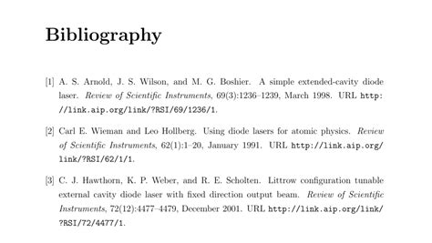 template for bibliography bibliographies bibliography only shows references from