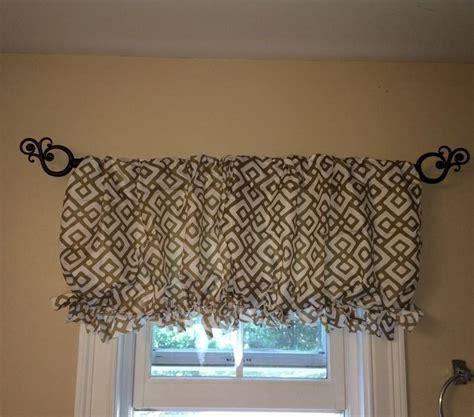 curtains under 10 dollars 1000 ideas about no sew valance on pinterest valances