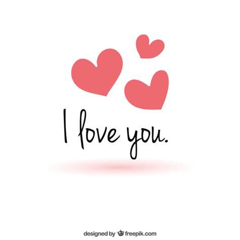 descargar imagenes de i love you baby mensaje de amor minimalista descargar vectores gratis
