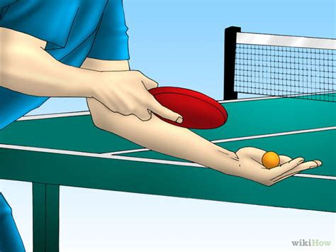 How To Serve In Table Tennis 9 Steps With Pictures