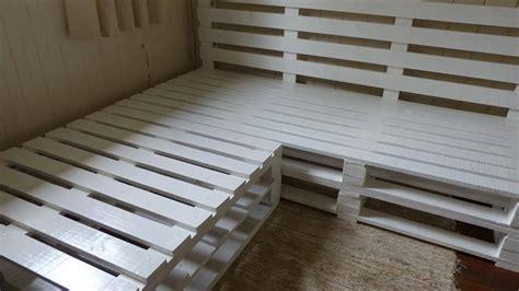 diy pallet sectional diy pallet corner sofa frame 101 pallets