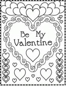 valentines day coloring pages printable valentines day coloring pages bestofcoloring