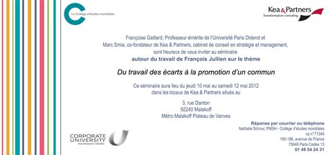 Exemple De Lettre D Invitation Colloque modele lettre invitation a un colloque