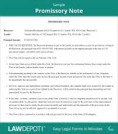 Personal Loan Promissory Note Template by Promissory Note Template Free Promissory Note Form Us